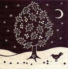 Holly - Algan Arts Gail Kelly Greeting Card
