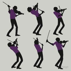 """Purple Shirt of Violin"" T-Shirts & Hoodies by ftwyn   Redbubble"