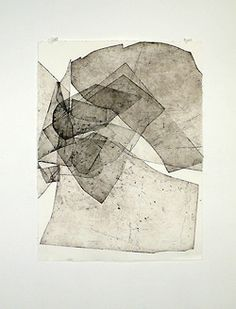 Batholith Etching, 2010 by Eben Goff, aluminum plate monoprint on Rives BFK, in welded aluminum frame, Grafik Art, Art Et Illustration, Art Graphique, Art Plastique, Painting & Drawing, Encaustic Painting, Printmaking, Art Drawings, Contemporary Art