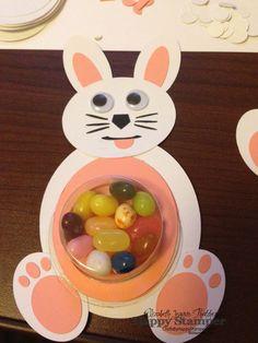 CraftsbyHappyStamper.com: Easter Blog Hop.  Stampin Up, easter, treats, Treat Cups, Punch Art