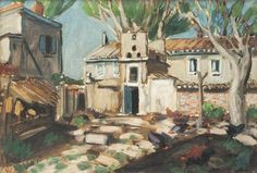 Auguste Chabaud, La basse cour