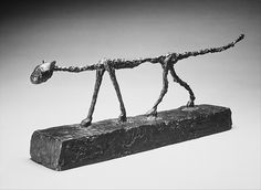 Alberto Giacometti (Swiss, 1901–1966). The Cat, 1954. The Metropolitan Museum of Art, New York. Jacques and Natasha Gelman Collection, 1998 (1999.363.24)