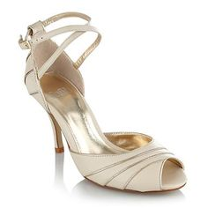 Ivory leather sandals - High heel shoes - Shoes & boots - Women -