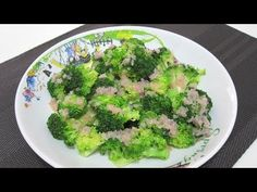 Steamed Broccoli with Lemon Butter Sauce (Atkins Diet Phase 1 Recipe) - Diet Plan 101