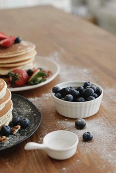 Pancakes are one of the best breakfast dishes that almost everyone loves and all of us can make easily. Here is a recipe that comes out perfect every time, a good batter, and some practice with adjusting the temperature then you can achieve to make perfect pancakes.