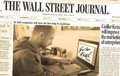 Un 8 de Julio como hoy salió la primera edición del THE WALL STREET JOURNAL en New York (1889)  www.guillerkrax.es Marketing Kreattivo  #emprendedor #blog #influencer #marketing #digital #branding #redes #sociales #social #media #creativo #ideas #valencia #instagram #spain