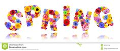 Resultado de imagem para primavera desenho colorido