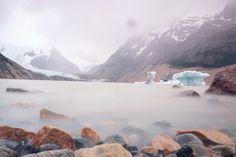 Laguna de los tres trek in Patagonia, Argentina.