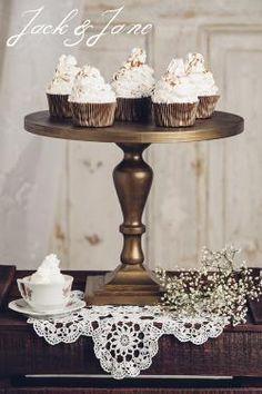 Antikolt arany fa tortatálak - Lady2   Jack&Jane tortaállványok Cake, Kuchen, Torte, Cookies, Cheeseburger Paradise Pie, Tart, Pastries
