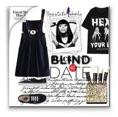 """Beautifulhalo II40"" by aaidaa ❤ liked on Polyvore featuring Nicki Minaj, Vans, women's clothing, women, female, woman, misses, juniors, beautifulhalo and bhalo"