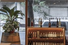 DE BARRICAS wine store by Santiago Chibán and Manuela Bresso, Buenos Aires – Argentina » Retail Design Blog