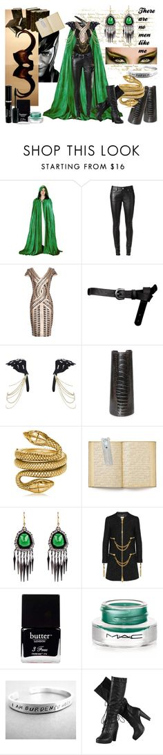 """""""Loki"""" by devita33 ❤ liked on Polyvore featuring Yves Saint Laurent, ASOS, River Island, Jil Sander, Tom Ford, Beauty Secrets, The Vatican Library Collection, Alexis Bittar, Moschino and Butter London"""
