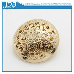 fashion design hollow carved metal ladies  overcoat button-in Buttons from  Apparel  amp  4e52c0e99c0c