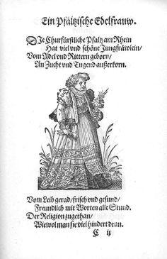 Frauen-Trachtenbuch 011.jpg A noblewoman from the Pfälz