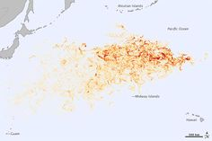 Nuevos mapas del seguimiento de los escombros del tsunami de Japón - Tracking Debris from the Japan Tsunami