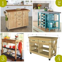 22 Ideas for kitchen island portable diy You are in the right place about mobil… - Modern Mobile Kitchen Island, Portable Kitchen Island, Kitchen Island On Wheels, Kitchen Island Cart, Kitchen Islands, Rolling Kitchen Island, Cocina Diy, Ikea, Layout
