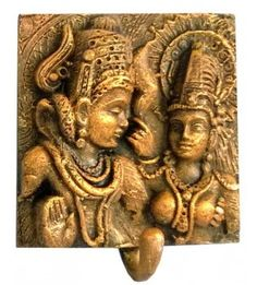 Shiv Parvati Wall Hooks