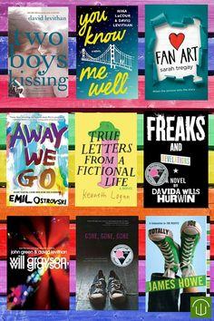 Show your pride by reading some LGBT fiction for teens. Gone, Gone, Gone and Freaks and Revelations are both ALA Stonewall Award winners as notable LGBT fiction. • Away We Go  by: Emil Ostrovski • Fan Art  by: Sarah Tregay • Freaks and Revelations...