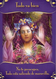 """Angel Card Reading May 2014 - Interpretation by Margi of Messages from the Fairies by Doreen Virtue """"Everything's Okay - Don't worry. It's all working out in a beautiful way. Doreen Virtue, Angel Guidance, Spiritual Guidance, Angel Cards, Guardian Angels, Oracle Cards, Numerology, Universe, Fairies"""