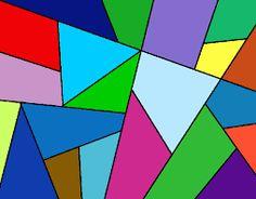 Resultado de imagen para dibujos geometricos abstractos a color