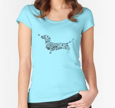 Dachshund tshirt 2 by tiffanyo
