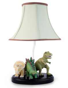 Dinosaur, lamp, dinosaur, light, and, decor, baby and kids lighting by All Kids Lamps.