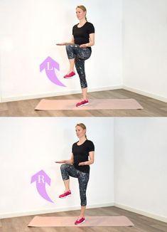 The workout for slim legs - Sport - Fitness Salon Fitness Workouts, Fun Workouts, Yoga Fitness, Fitness Tips, Fitness Motivation, Health Fitness, Backyard Trampoline, Eco Slim, Dumbbell Workout