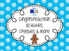 Gingerbread Man Activities, Freebies, and More Pinterest Board
