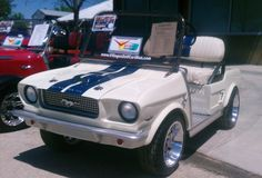 custom golf cart bodies - Google Search...Power Wheels for big people!