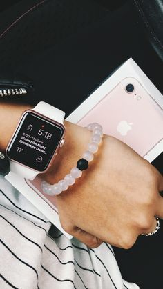 Image result for rose gold apple watch with concrete band