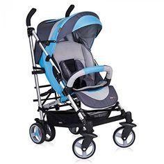 Silla de paseo easyGO LOOP Carrito con Capazo de alta calidad, color ocean blue