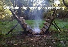 awesome When an engineer goes camping by http://dezdemonhumoraddiction.space/engineering-humor/when-an-engineer-goes-camping/