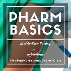 Basics of Nursing Pharmacology NCLEX Notes @iStudentNurse #NurseHacks