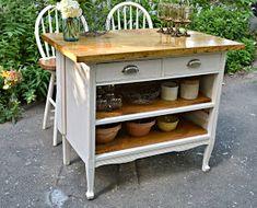 Furniture refinishing, vintage decor, antiques, cottage, flea market style, interior design