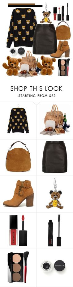 """""""The Teddy Bears' Picnic"""" by pixidreams on Polyvore featuring Bambeco, UGG, River Island, Steve Madden and Smashbox"""