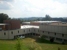Asheville Middle School Roof Restoration - Asheville NC - Alexander Design Studio, PC
