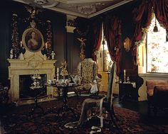 1st floor Mid 18th Century Drawing room, Dennis Severs' House, Spitalfields, London