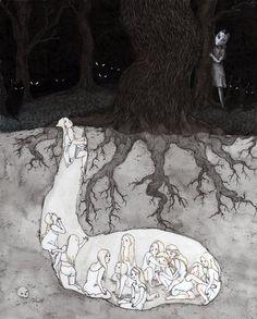 The Warren illustration by Kat Philbin