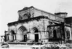 Manila Cathedral before WWII