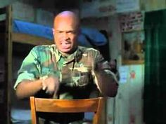 Major Payne - Little Engine That Could bedtime story.  Loved that movie.