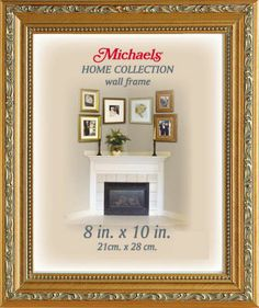 home collection gold pompeii frame