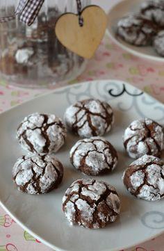 Popękane ciasteczka czekoladowe Brownies, Cereal, Muffin, Cooking Recipes, Gluten Free, Candy, Cookies, Baking, Breakfast