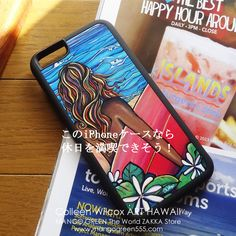 North Shore iPhone case by Colleen Wilcox Art HAWAII  #iphonecase #iphoneケース #hawaii #ハワイ #northshore #ノースショア #surfing #サーフィン