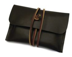Leather iPhone5 Case Leather iPhone5 Sleeve Hand by feltapp