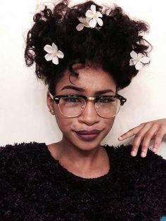 Easy Dark Short Hairstyles for Curly Hair