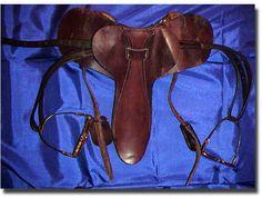 The tack Man o' War used during his three-year old season