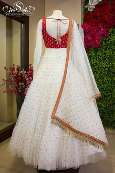 End Customization with Hand Embroidery & beautiful Zardosi Art by Expert & Experienced Artist That reflect in Blouse , Lehenga & Sarees Designer creativity that will sunshine You & your Party. Party Wear Indian Dresses, Designer Party Wear Dresses, Indian Gowns Dresses, Indian Bridal Outfits, Kurti Designs Party Wear, Dress Indian Style, Indian Fashion Dresses, Indian Designer Outfits, Fashion Outfits