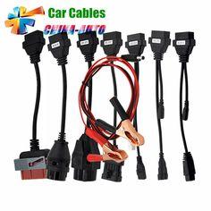 Obd2 Cable For All Of Vd Tcs Cdp Multidiag Pro Wow Snooper Full Lots 8 Pcs Car Cables 8 Pcs Truck Cables Obd2 Diagnostic Tool Great Varieties Car Repair Tools Car Diagnostic Cables & Connectors