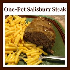 Homemade Salisbury Steak #Recipe For The Ninja Cooking System - From Val's Kitchen : From Val's Kitchen
