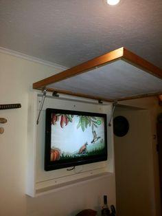 Cómo ocultar TV.